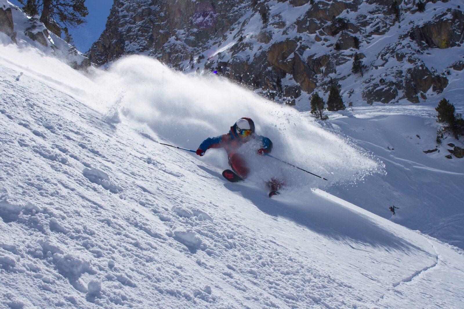 Pruebas de acceso esquí o snowboard - freeride 3