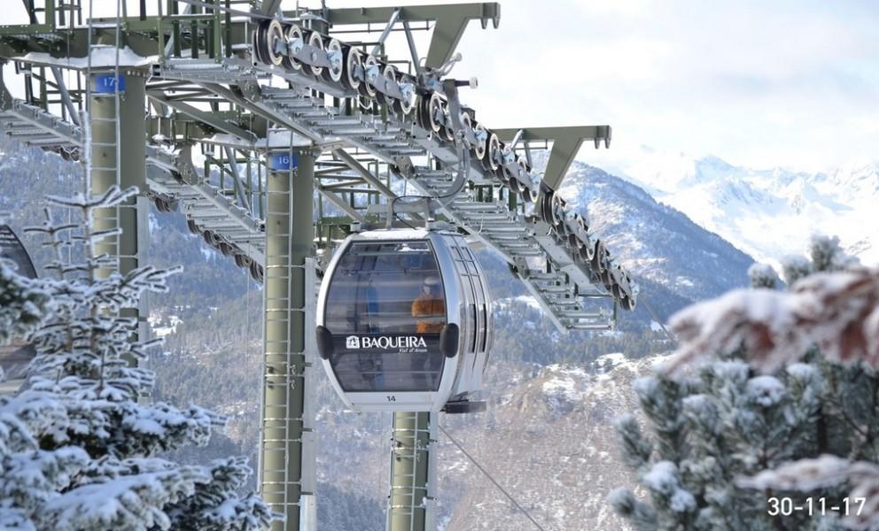 Esquiar en la Inmaculada