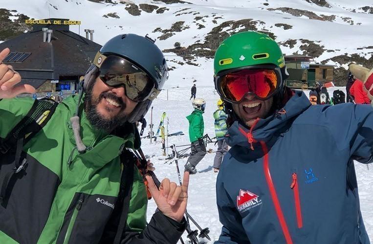 Escuela esquí Baqueira. Clases de esquí y snowboard - dia completo esqui