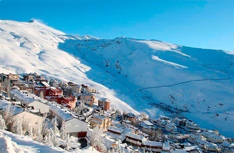 escuela de esqui en sierra nevada